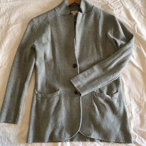 J. Crew sweater blazer Margot